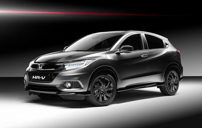 Ngắm phiên bản Honda HR-V Sport mới thể thao hơn.