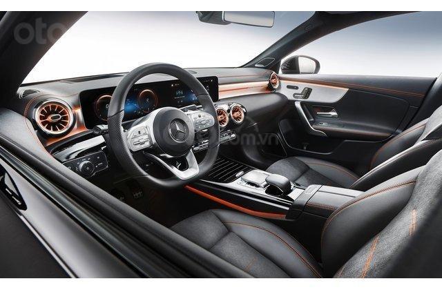 Nội thất xe Mercedes-Benz CLA-Class 2020