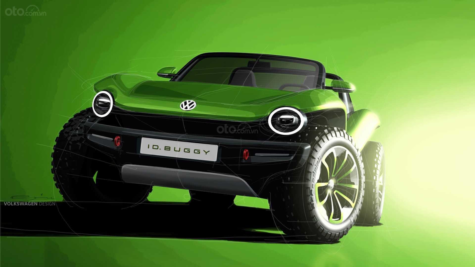 Volkswagen I.D. Buggy Concept đầu xe