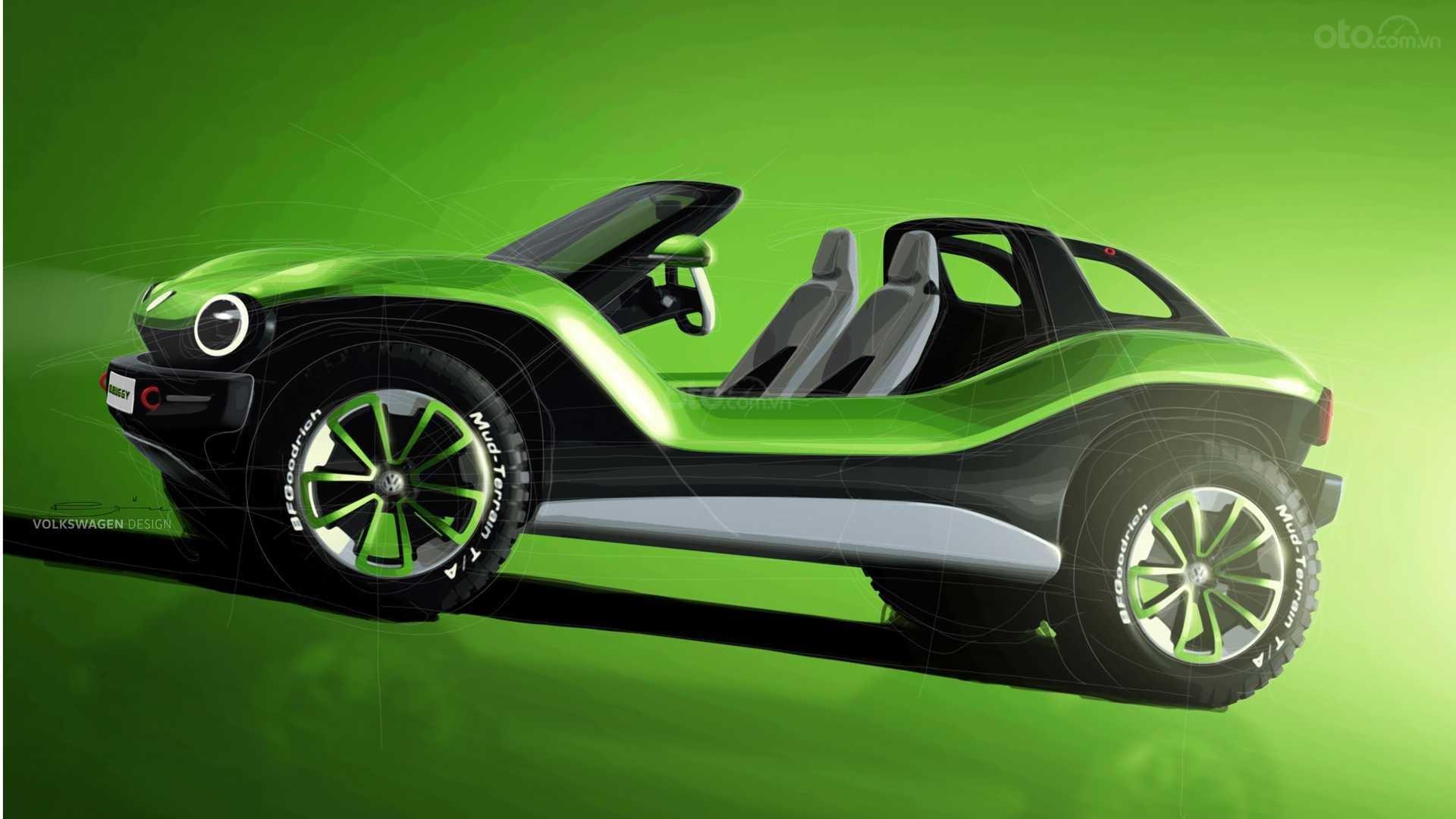 Volkswagen I.D. Buggy Concept thân xe