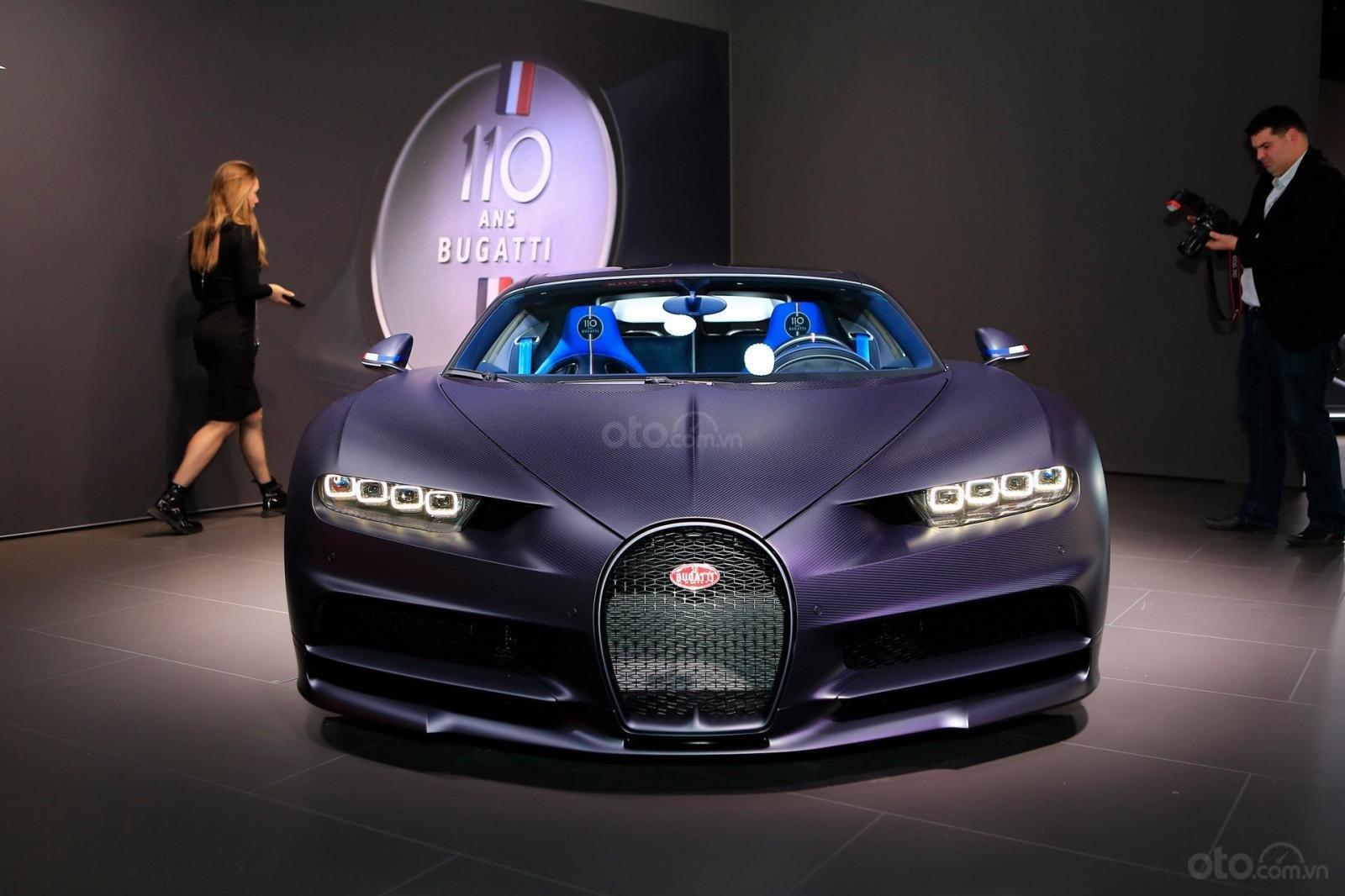 Hình ảnh mẫu Siêu xe Bugatti Chiron Sport tại Geneva 2019 - 2