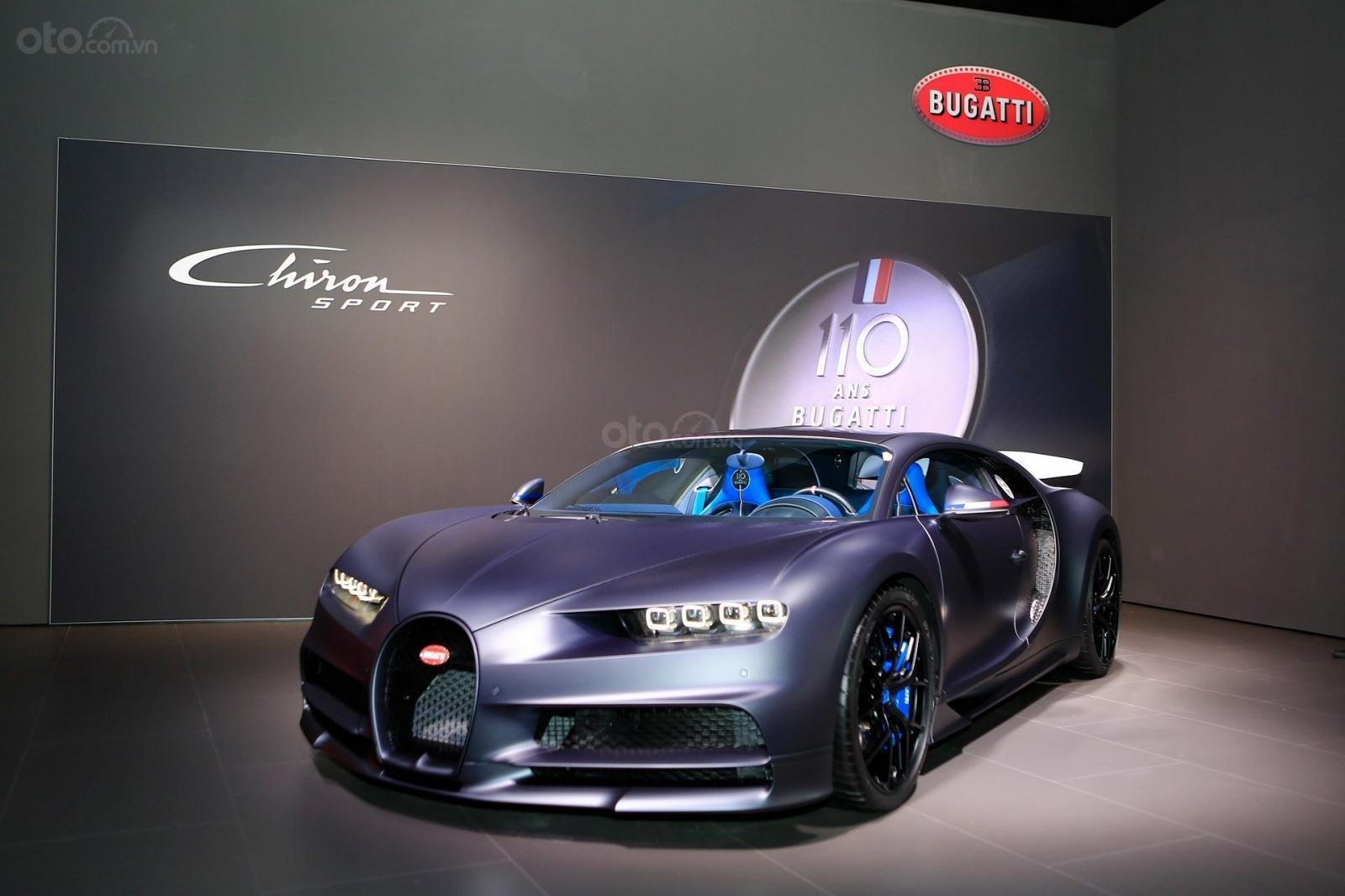 Hình ảnh mẫu Siêu xe Bugatti Chiron Sport tại Geneva 2019 - 1