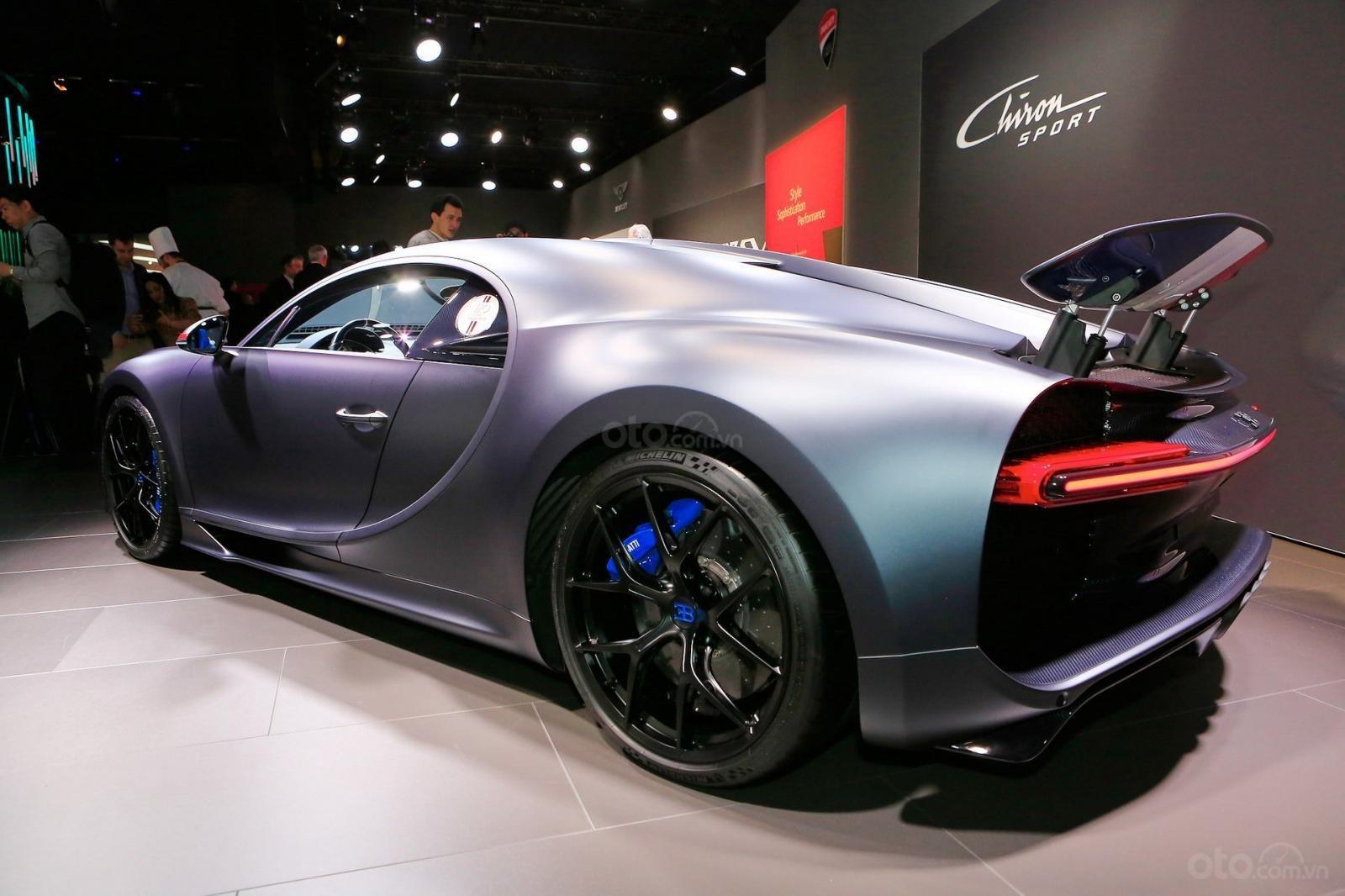 Hình ảnh mẫu Siêu xe Bugatti Chiron Sport tại Geneva 2019 - 4