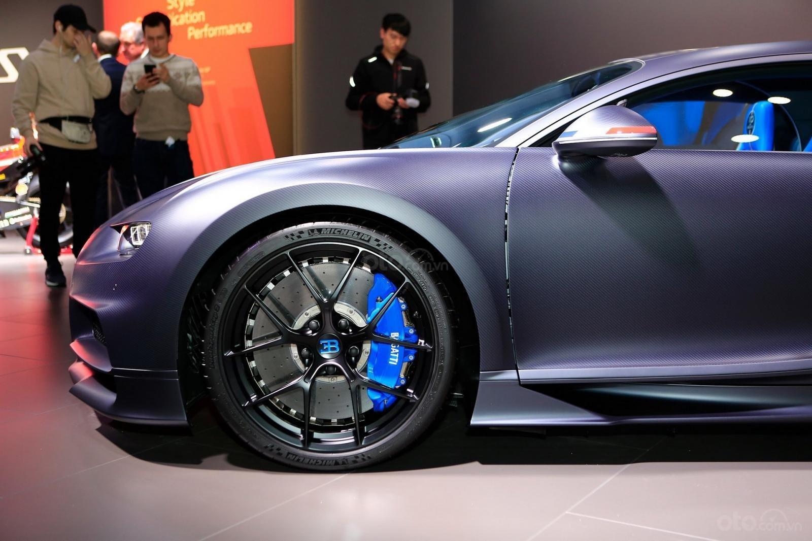 [Geneva 2019] Siêu xe chục tỷ Bugatti Chiron Sport cực bắt mắt