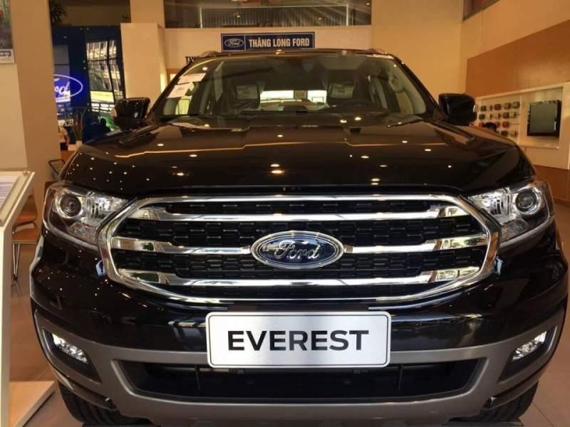 Cần bán xe Ford Everest năm sản xuất 2018, màu đen, nhập khẩu nguyên chiếc-3