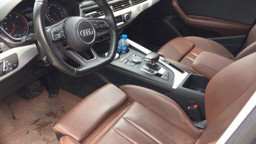 Bán Audi A4 2.0 AT đời 2016, màu đen, xe nhập (4)