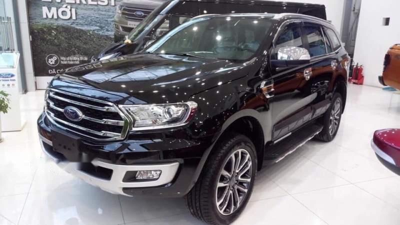 Cần bán xe Ford Everest năm sản xuất 2018, màu đen, nhập khẩu nguyên chiếc-0