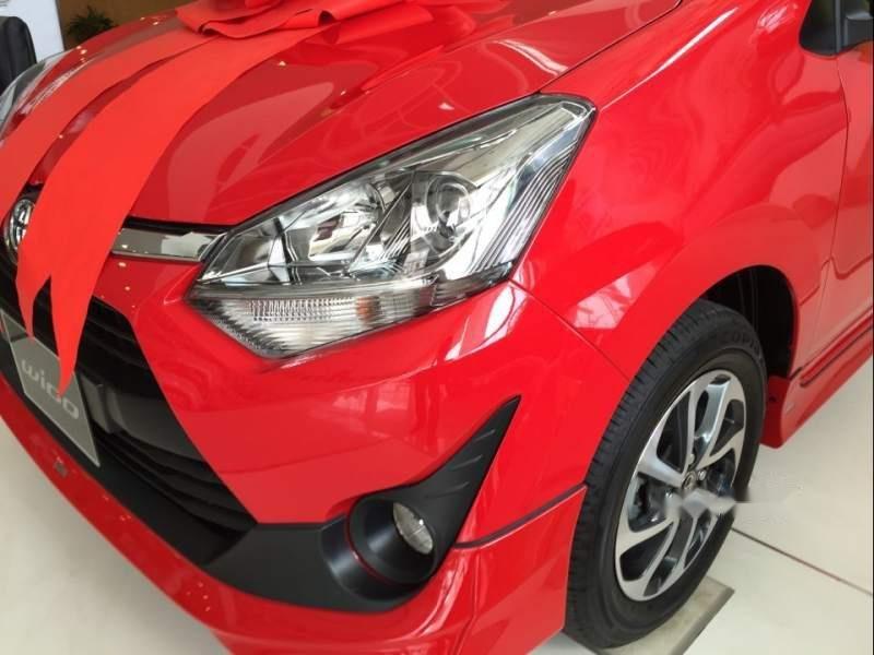 Bán ô tô Toyota Wigo sản xuất 2019, màu đỏ, nhập khẩu nguyên chiếc, giá 345tr-1