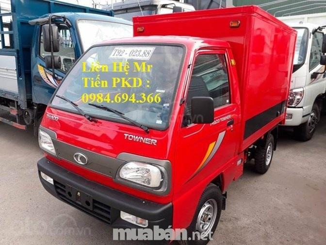 Xe tải 5 tạ nâng tải 9 tạ Thaco Towner nhỏ gọn, đủ loại thùng, giá tốt, liên hệ 0984694366 (1)