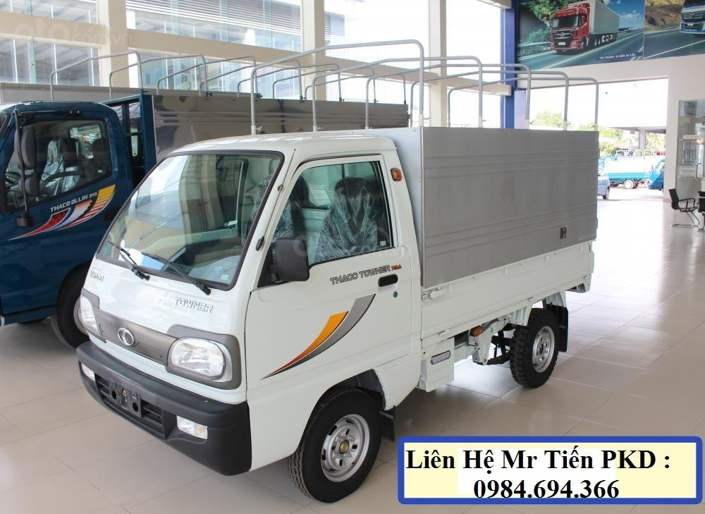 Xe tải 5 tạ nâng tải 9 tạ Thaco Towner nhỏ gọn, đủ loại thùng, giá tốt, liên hệ 0984694366 (24)