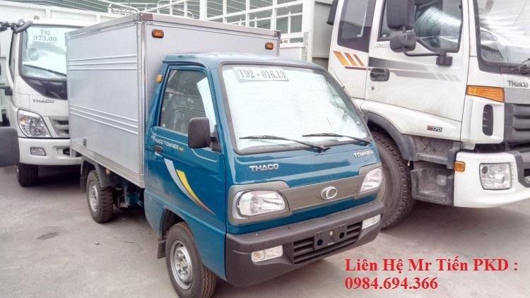 Xe tải 5 tạ nâng tải 9 tạ Thaco Towner nhỏ gọn, đủ loại thùng, giá tốt, liên hệ 0984694366 (21)
