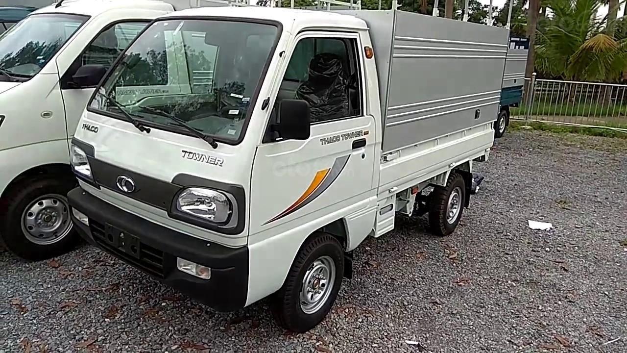 Xe tải 5 tạ nâng tải 9 tạ Thaco Towner nhỏ gọn, đủ loại thùng, giá tốt, liên hệ 0984694366 (25)