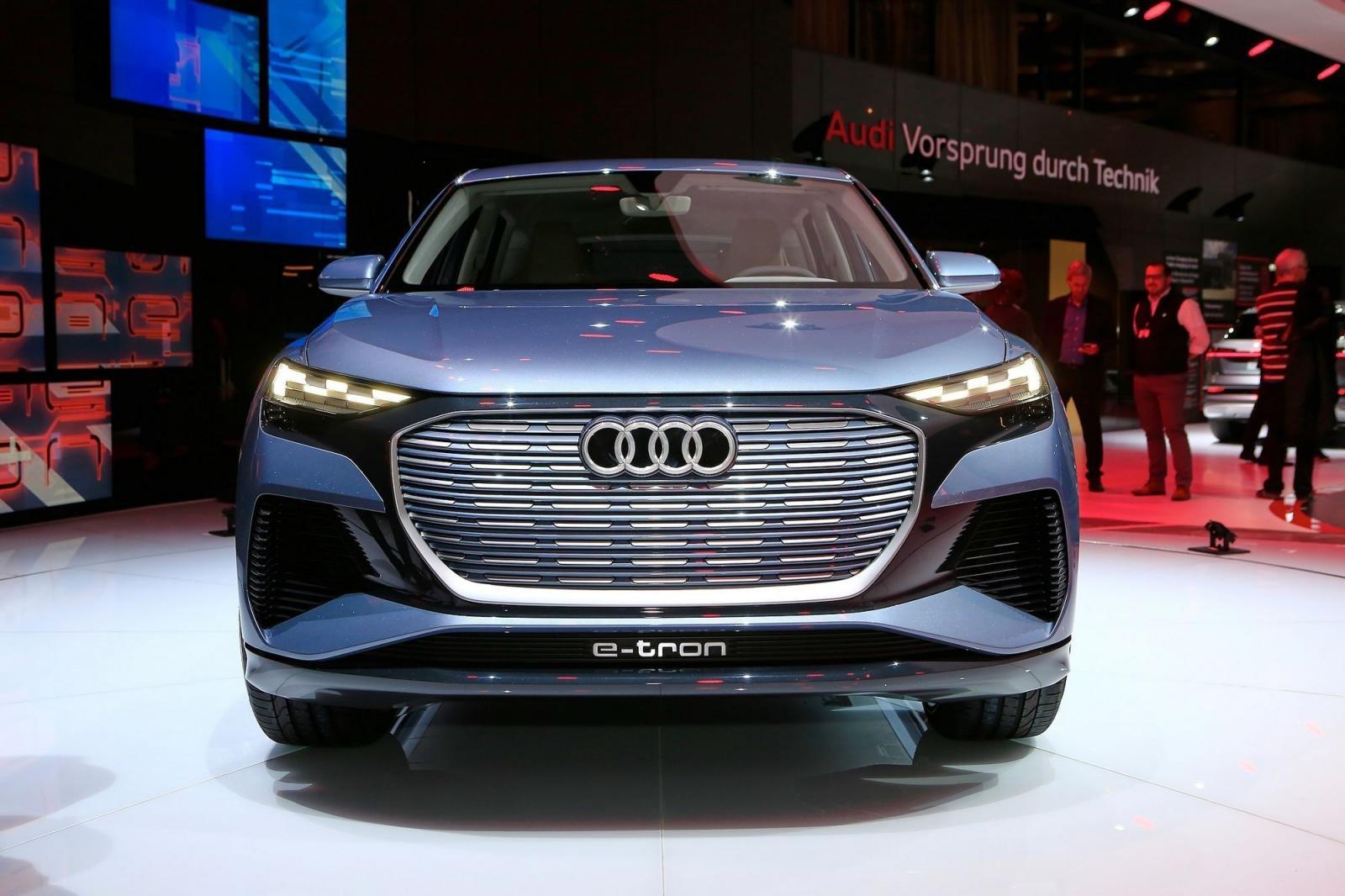 """Audi Q4 e-tron chính thức """"lên sóng"""" tại Geneva 20192aa"""