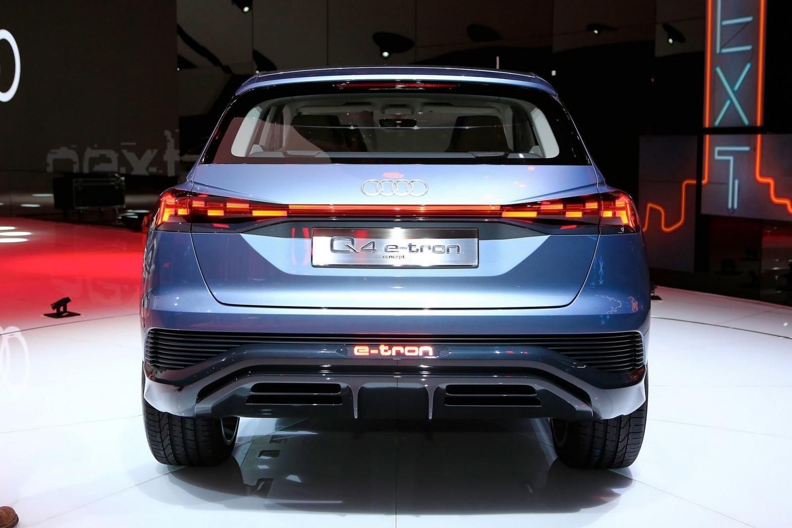 """Audi Q4 e-tron chính thức """"lên sóng"""" tại Geneva 20193aa"""
