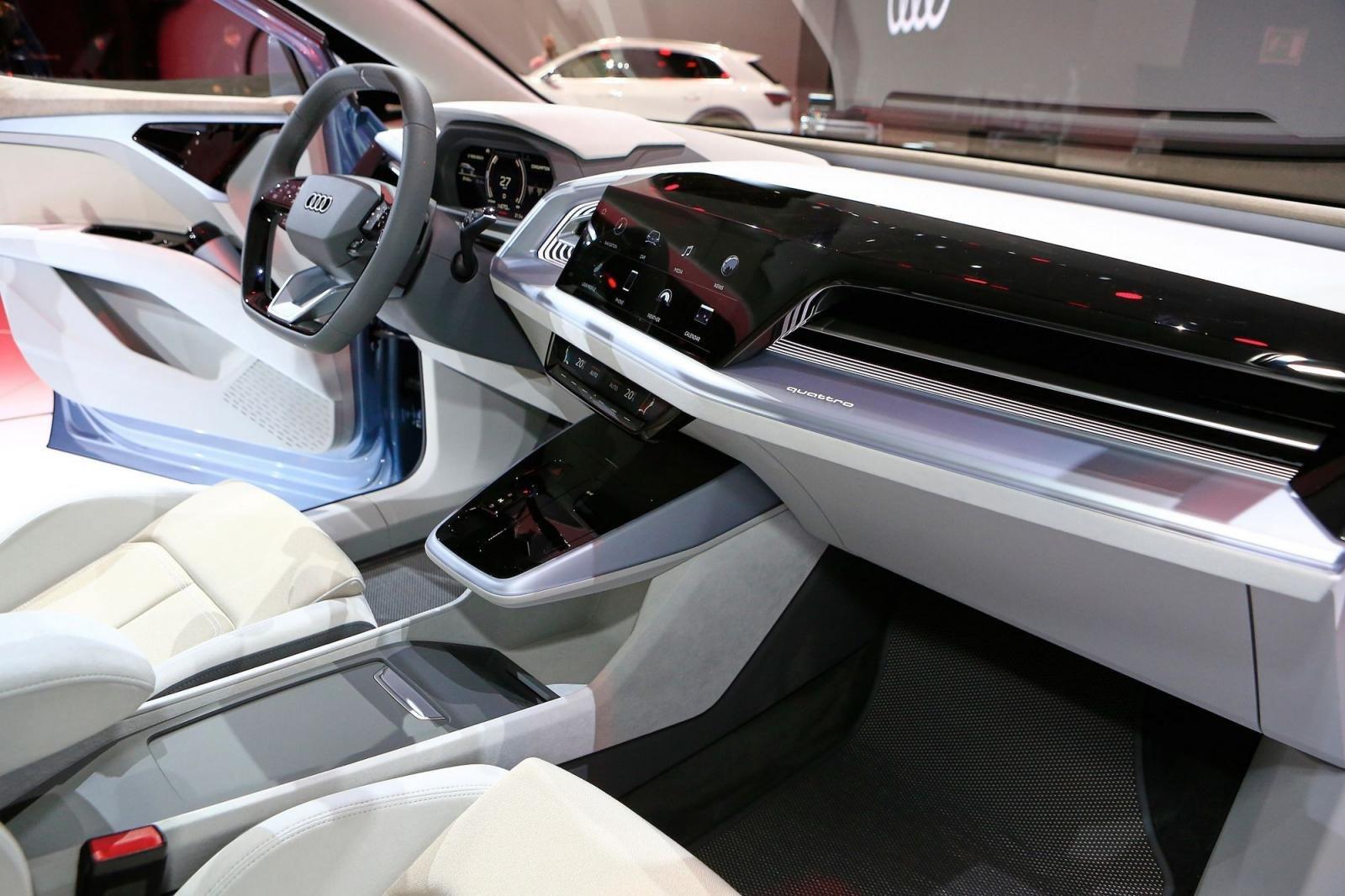 """Audi Q4 e-tron chính thức """"lên sóng"""" tại Geneva 20194aa"""