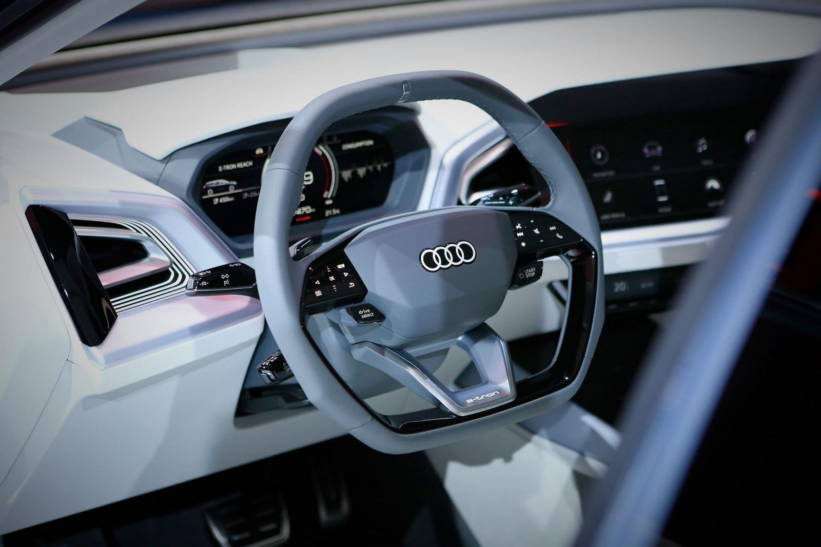 """Audi Q4 e-tron chính thức """"lên sóng"""" tại Geneva 20196aaa"""