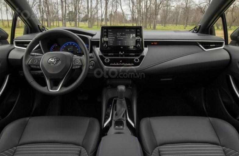 Nội thất xe Toyota Corolla 2020