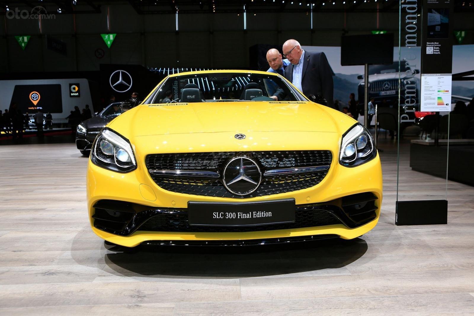 Hình ảnh Mercedes-Benz SLC Final Edition tại Geneva 2019 - 1