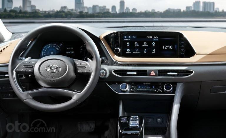 Ảnh nội thất Hyundai Sonata 2020