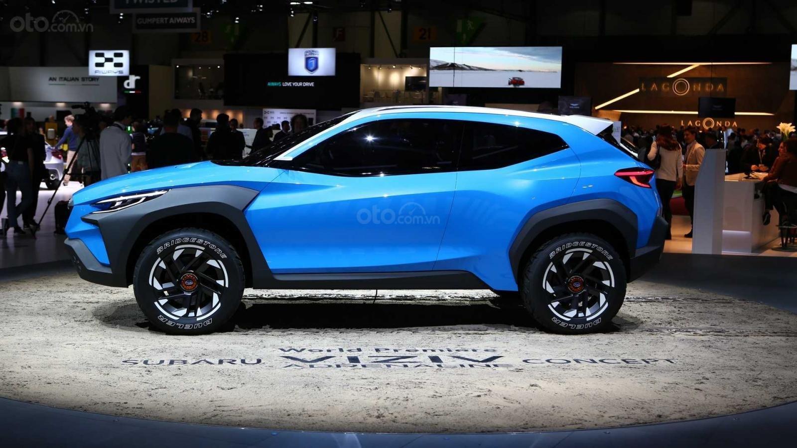 [Geneva 2019] Subaru Viziv Adrenaline - Phác họa Crosstrek thế hệ mới a2