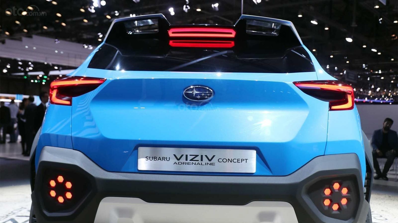 [Geneva 2019] Subaru Viziv Adrenaline - Phác họa Crosstrek thế hệ mới a4