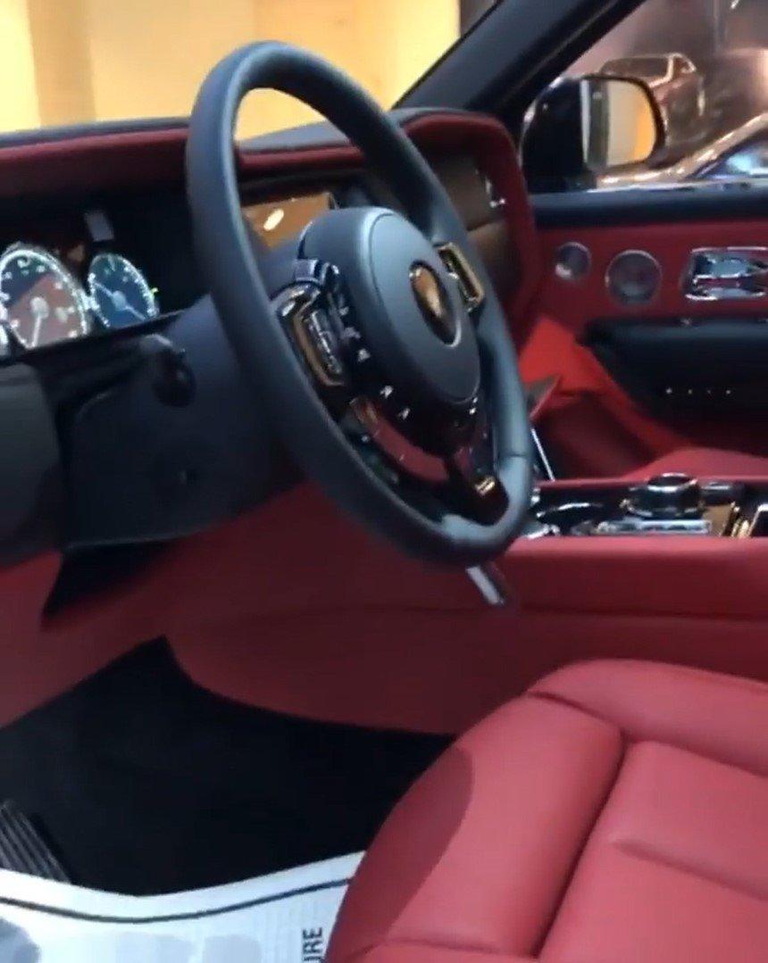 Hình ảnh bên trong Rolls-Royce Cullinan mới