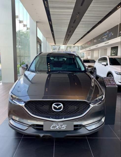 Bán Mazda CX 5 2019, màu xám, 899tr-1
