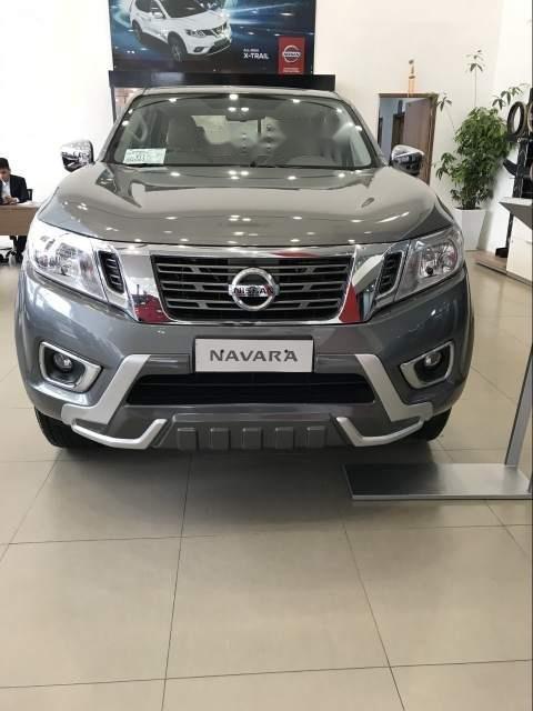 Bán ô tô Nissan Navara đời 2018, màu xám, xe nhập-4