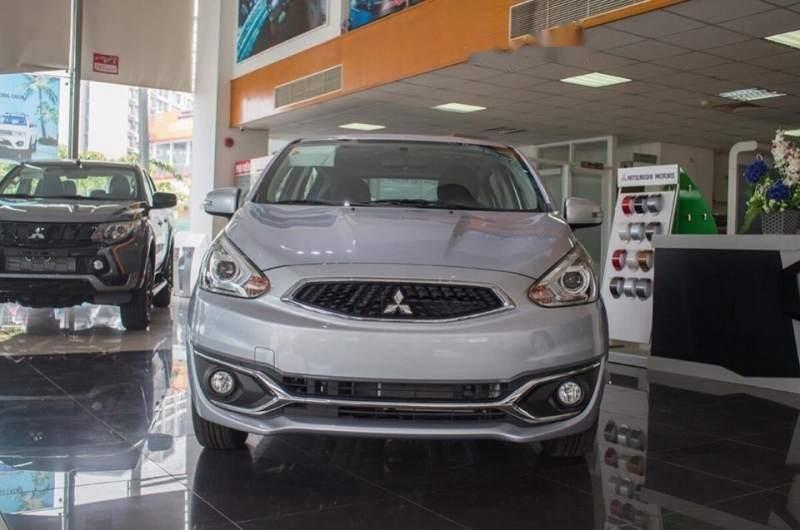 Bán ô tô Mitsubishi Mirage đời 2019, màu bạc, nhập khẩu nguyên chiếc-0