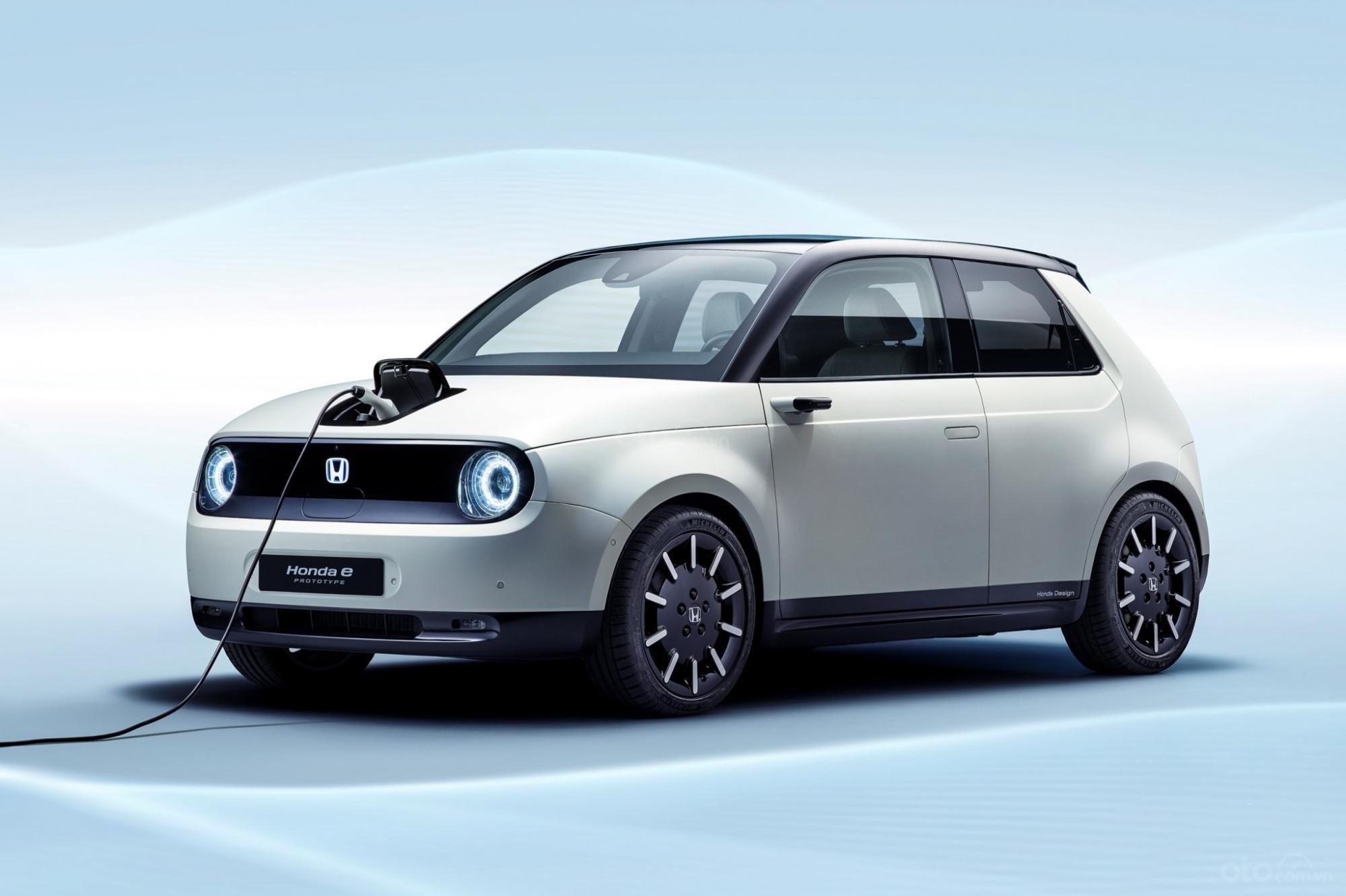 Honda E-Prototype Concept đầu xe