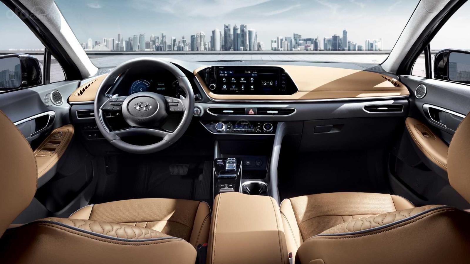 Ảnh nội thất Hyundai Sonata 2020 a6
