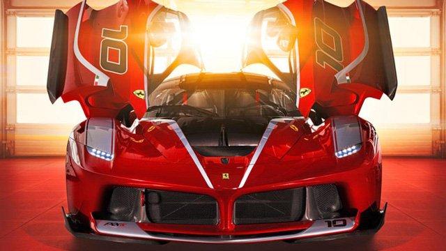 Ferrari FXX K trị giá 3 triệu USD