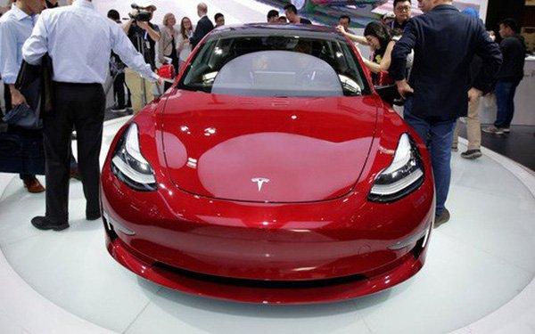 Tesla Model 3 bán ra tại Trung Quốc....