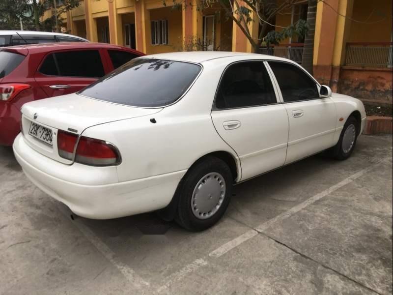 Bán Mazda 626 MT năm sản xuất 1997, màu trắng, xe một chủ đi làm nhà nước (3)
