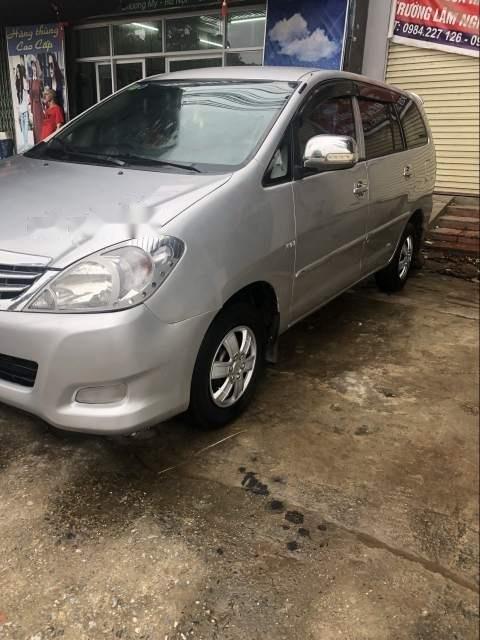 Cần bán Toyota Innova 2008, màu bạc, giá chỉ 225 triệu-1