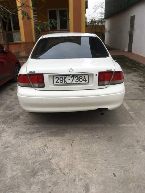 Bán Mazda 626 MT năm sản xuất 1997, màu trắng, xe một chủ đi làm nhà nước (4)
