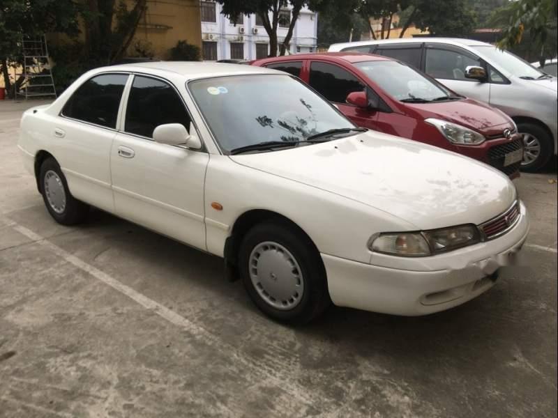 Bán Mazda 626 MT năm sản xuất 1997, màu trắng, xe một chủ đi làm nhà nước (1)