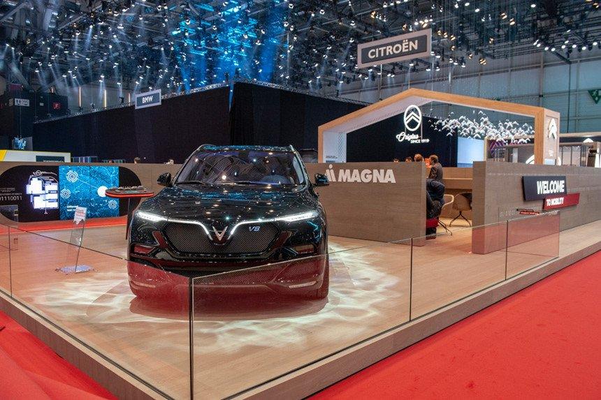 VinFast Lux V8 tại Geneva 2019