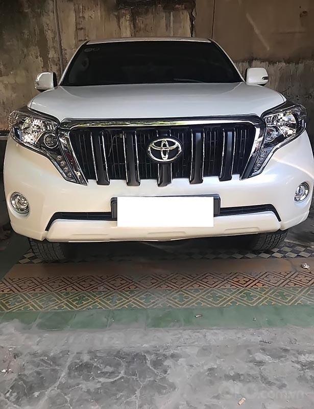 Bán xe Toyota Prado đời 2015, màu trắng, nhập khẩu, xe gia đình-1