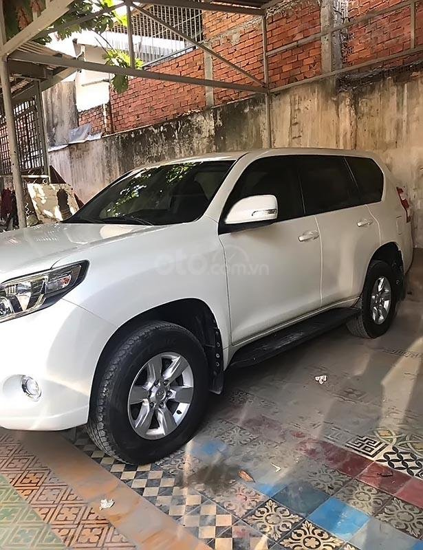 Bán xe Toyota Prado đời 2015, màu trắng, nhập khẩu, xe gia đình-0