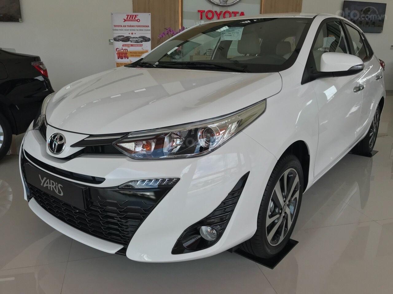 Toyota Yaris - nhập Thái - khuyến mãi - giao ngay-1