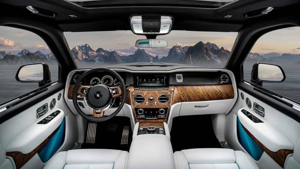 Trang bị nội thất của Rolls-Royce Cullinan 2019
