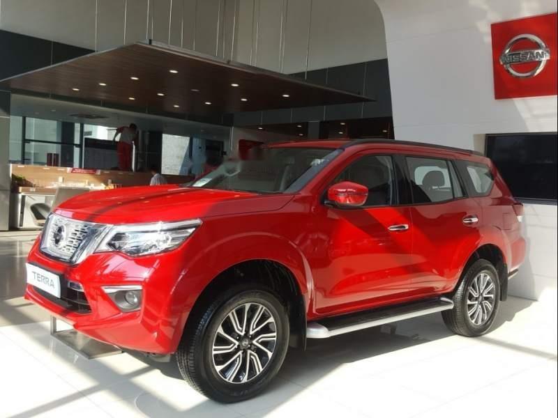 Bán xe Nissan Terra AT sản xuất năm 2018, màu đỏ, nhập khẩu nguyên chiếc-0