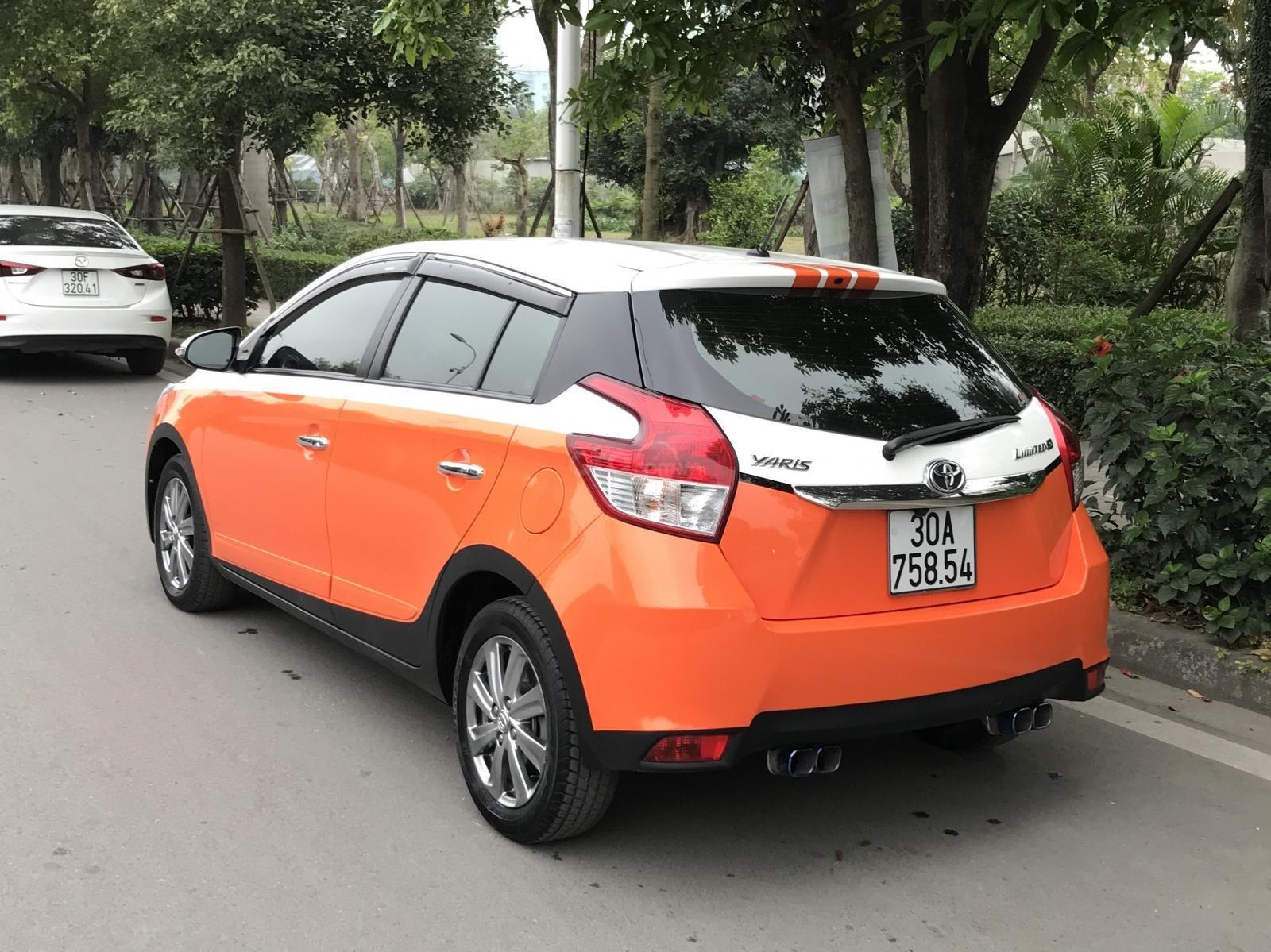 Bán xe Toyota Yaris 1.3G đời 2015, xe nhập-0