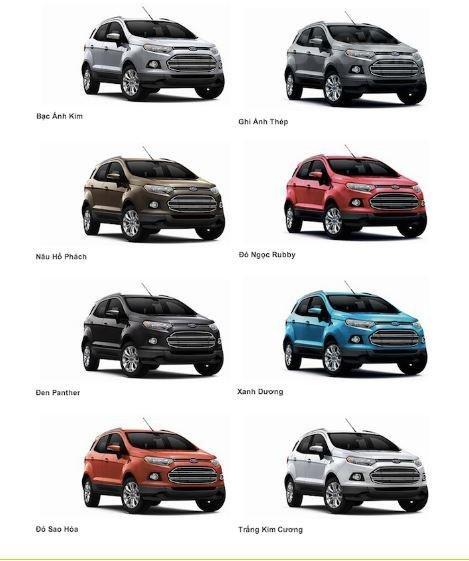 An Đô Ford bán Ford Ecosport 2019 đủ các bản, đủ màu giao ngay, giá chỉ từ 530tr, hỗ trợ trả góp cao. LH 0974286009-6