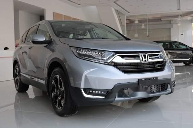 Bán Honda CR V đời 2019, màu bạc, xe nhập-0