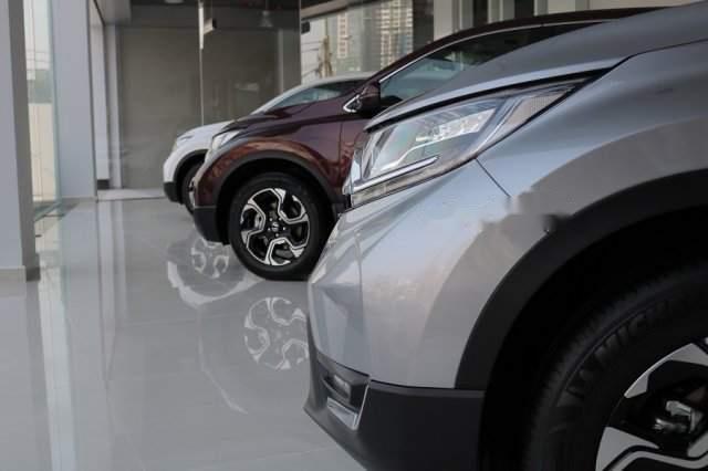 Bán Honda CR V đời 2019, màu bạc, xe nhập-1