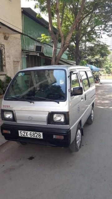 Bán Suzuki Super Carry Van 2004, màu trắng, giá tốt-1
