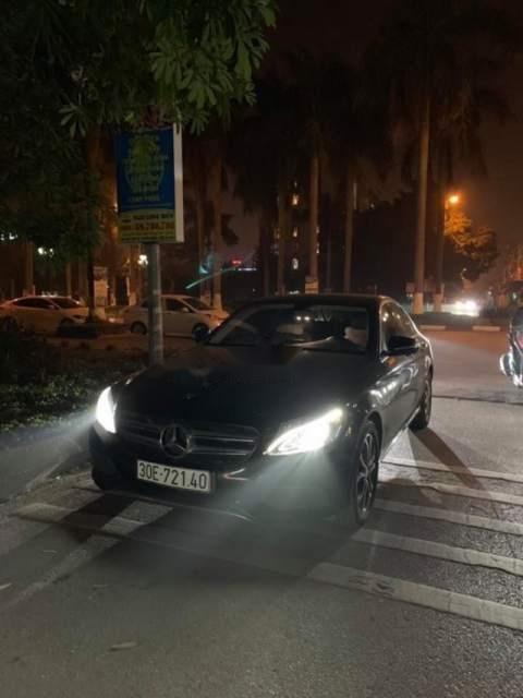 Bán Mercedes C200 đời 2016, màu đen, xe nhập-0