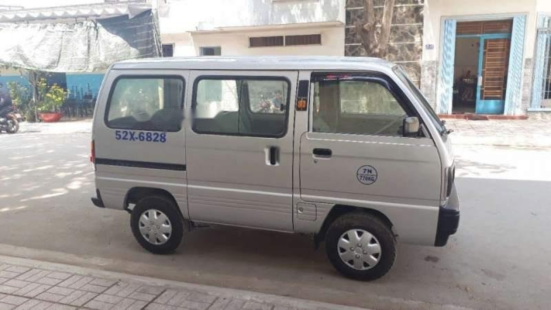 Bán Suzuki Super Carry Van 2004, màu trắng, giá tốt-0